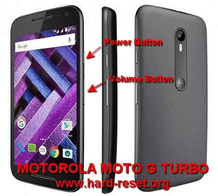 How to Easily Master Format MOTOROLA MOTO G TURBO (XT1556) with