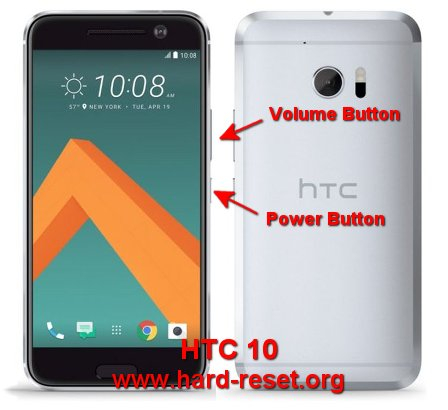 hard reset htc 10