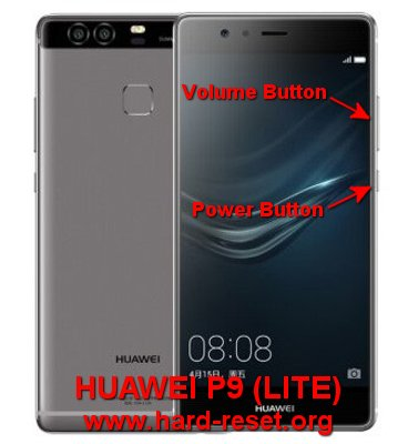 How to Easily Master Format HUAWEI P9 (LITE / G9) EVA-L09 / EVA-L19