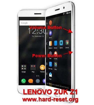 How to Easily Master Format LENOVO ZUK Z1 with Safety Hard
