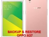 backup restore data oppo a37