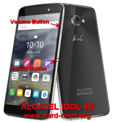 hard reset alcatel idol 4s
