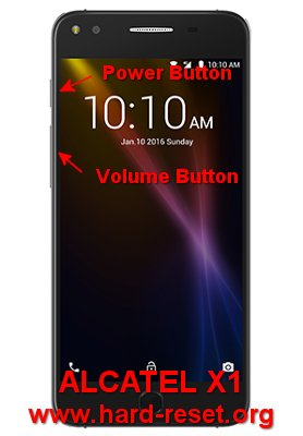 How to Easily Master Format ALCATEL X1 (7053D) with Safety Hard