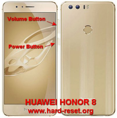 hard reset huawei honor 8