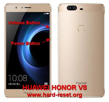 hard reset huawei honor v8 knt-al20
