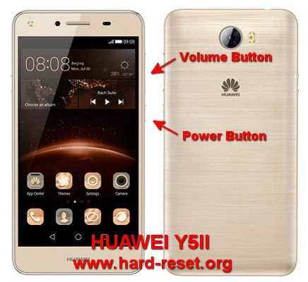 How to Easily Master Format HUAWEI Y5II / Y5 2 (HONOR 5) with Safety