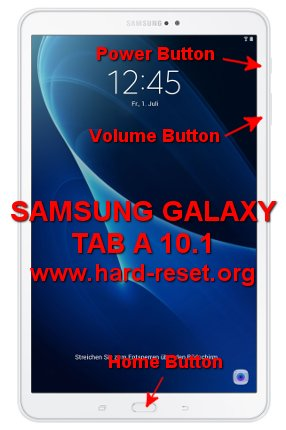 hard reset samsung galaxy tab a 10.1 inches
