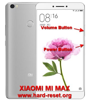 How to Easily Master Format XIAOMI MI MAX with Safety Hard