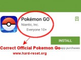 install safe official pokemon go