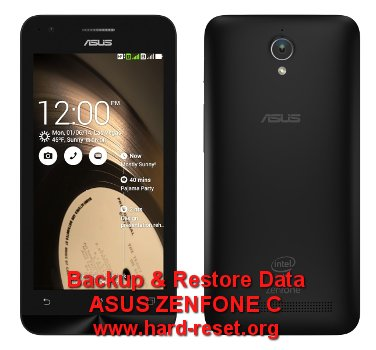 backup restore data asus zenfone c