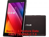 backup restore data asus zenpad c 7.0