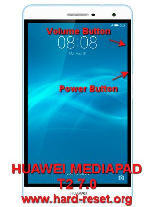 hard reset huawei mediapad t2 7 (pro)