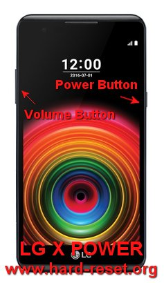 hard reset lg x power