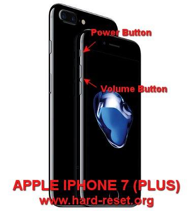 hard reset apple iphone 7 / iphone 7 plus
