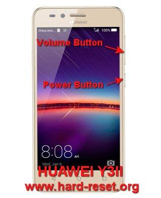 hard reset huawei y3II / huawei y3-2