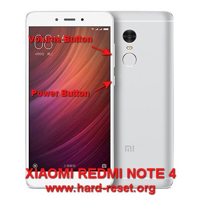 hard reset xiaomi redmi note 4