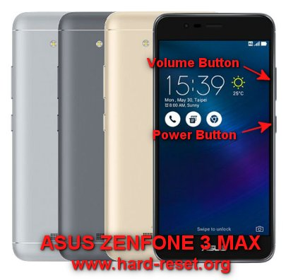 How to Easily Master Format ASUS ZENFONE 3 MAX ZC520TL with