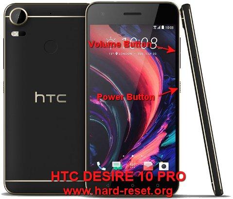 hard reset htc desire one pro