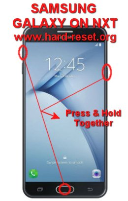 hard reset samsung galaxy on nxt