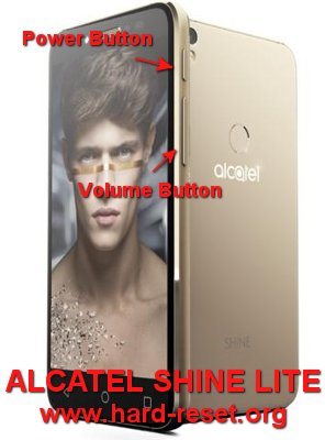 hard reset alcatel shine lite