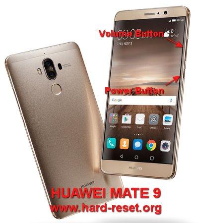 hard reset huawei mate 9