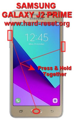 How to Easily Master Format SAMSUNG GALAXY J2 PRIME with Safety Hard