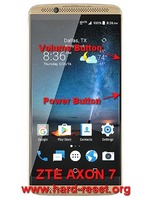 How to Easily Master Format ZTE AXON 7 with Safety Hard