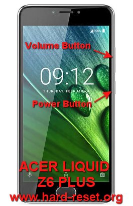 hard reset acer liquid z6 plus