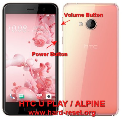hard reset htc u play / htc alpine