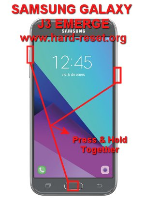 hard reset samsung galaxy j3 emerge