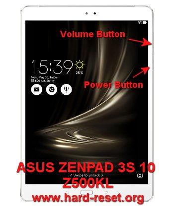 hard reset asus zenfone 3s 10 z500kl