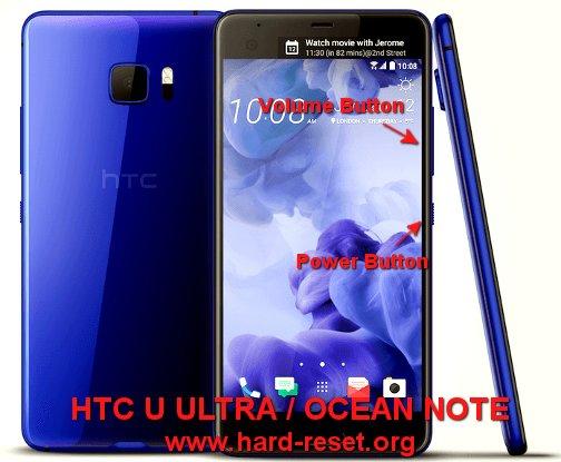 hard reset htc u ultra / htc ocean note