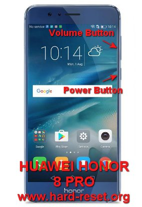 hard reset huawei honor 8 pro / huawei honor v9