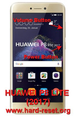 How to Easily Master Format HUAWEI P8 LITE (2017) / HONOR 8 LITE