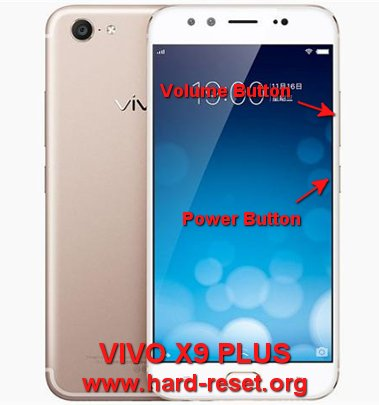 hard reset vivo x9 plus