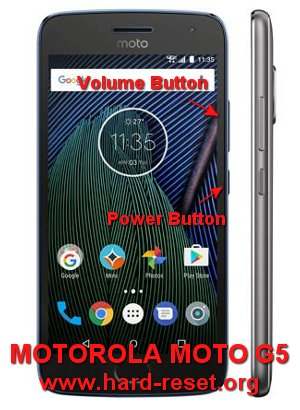 How to Easily Master Format MOTOROLA MOTO G5 (PLUS) with
