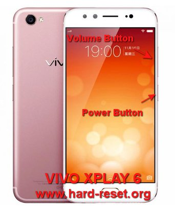 hard reset vivo xplay 6