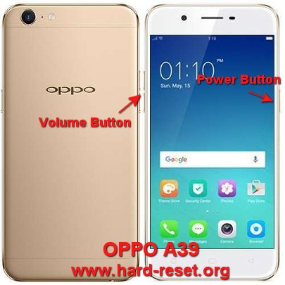 How to Easily Master Format OPPO A39 with Safety Hard Reset