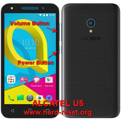 hard reset alcatel u5