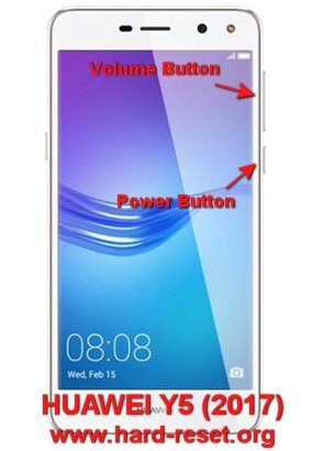 How to Easily Master Format HUAWEI Y5 (2017) with Safety Hard Reset