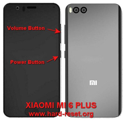 hard reset xiaomi mi6 plus