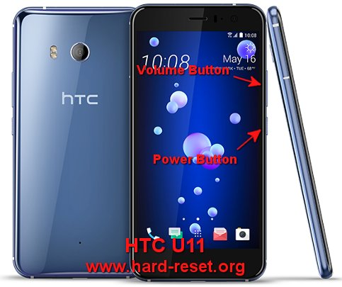 hard reset htc u11