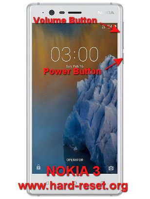hard reset nokia 3 android