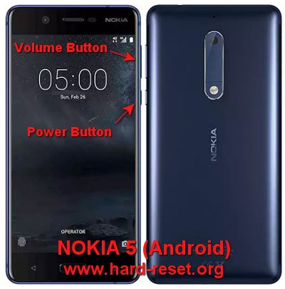 hard reset nokia 5 android