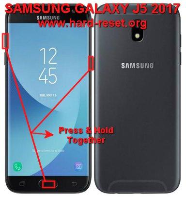 hard reset samsung galaxy j5 2017 / j750f / j530f / galaxy j5 pro