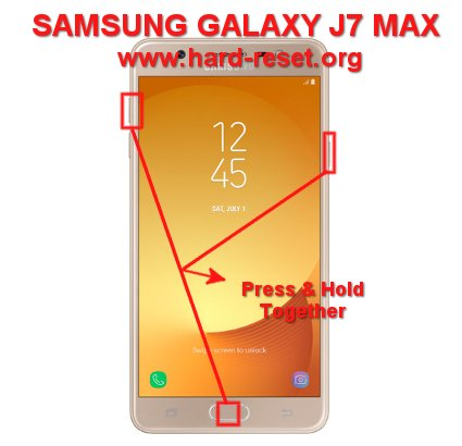How to Easily Master Format SAMSUNG GALAXY J7 MAX (G615F) with