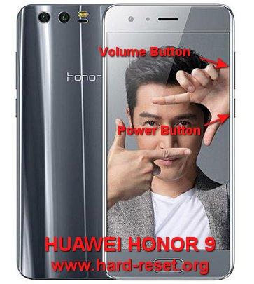hard reset huawei honor 9 (STF-L09/AL00/AL10/TL10)
