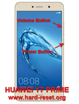 hard reset huawei y7 prime / huawei enjoy 7 plus