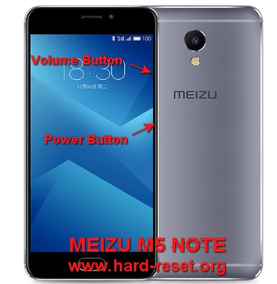 How to Easily Master Format MEIZU M5 NOTE with Safety Hard