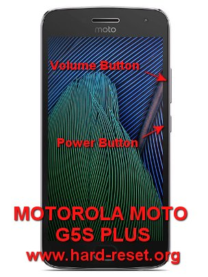 How to Easily Master Format MOTOROLA MOTO G5S PLUS with